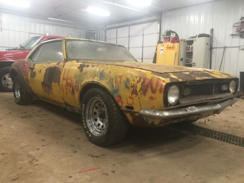1968 Chevrolet Camaro coupe barn find for sale