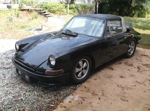 1968 Porsche 911L barn find for sale