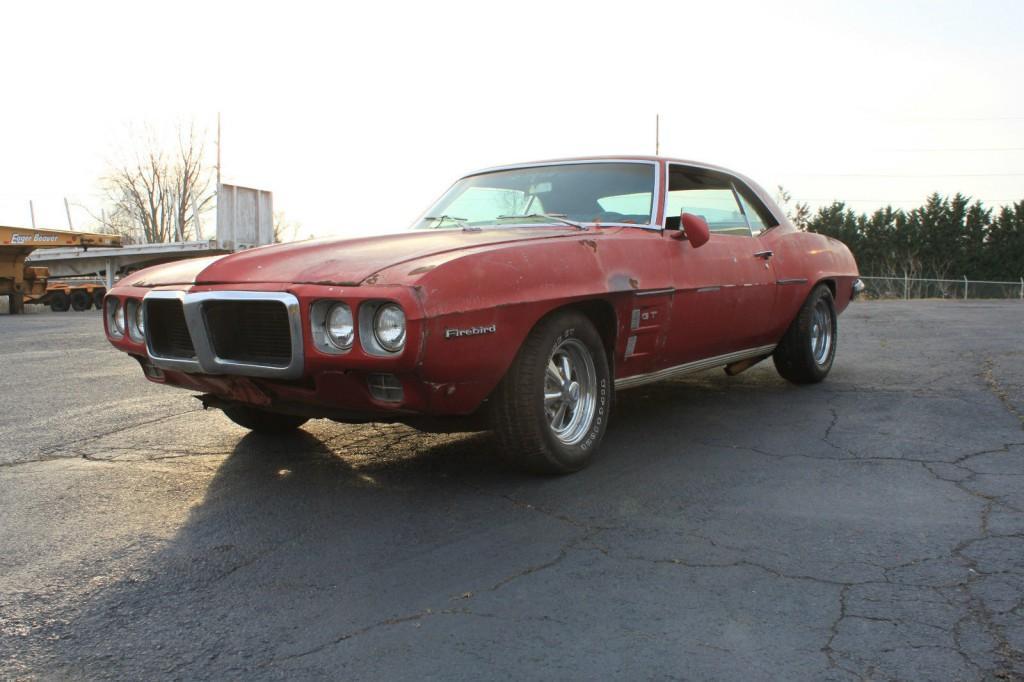 1969 Pontiac Firebird barn find