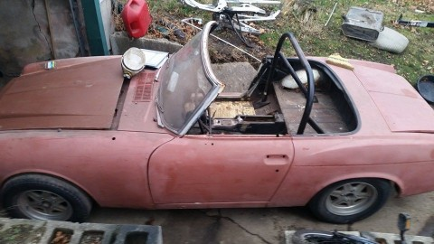 1970 Datsun Roadster Spl311 Convertible 1600 barn find project for sale