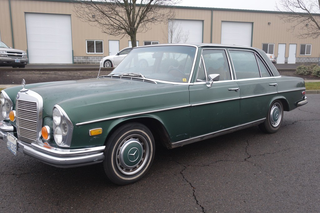1972 mercedes benz 280 sel 4 5 sunroof for sale. Black Bedroom Furniture Sets. Home Design Ideas