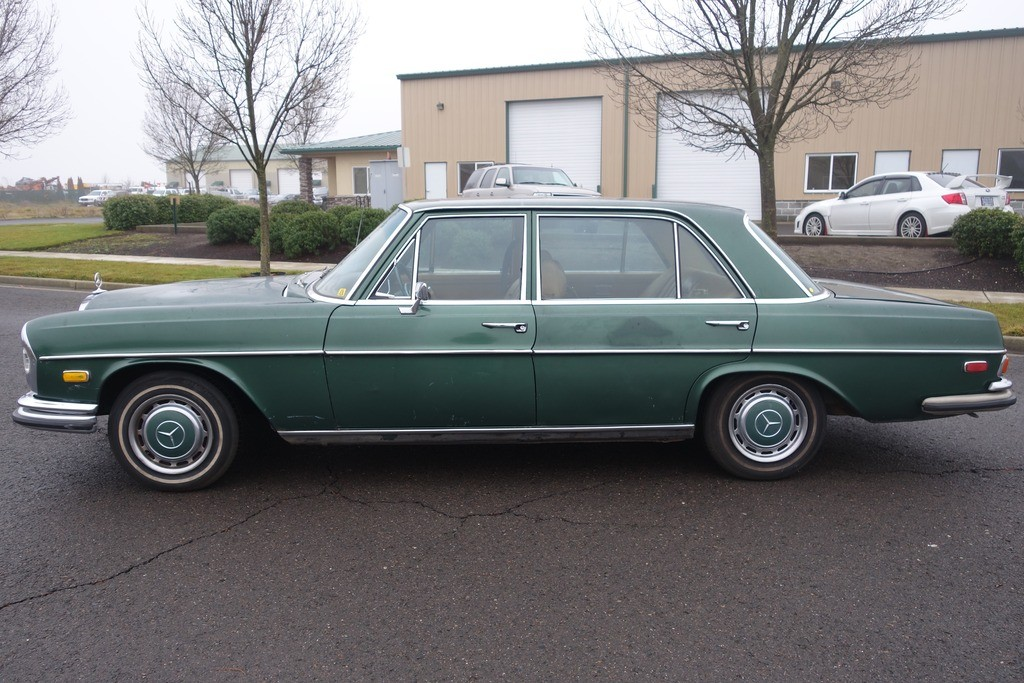 1972 mercedes benz 280 sel 4 5 sunroof for sale for Mercedes benz sunroof repair