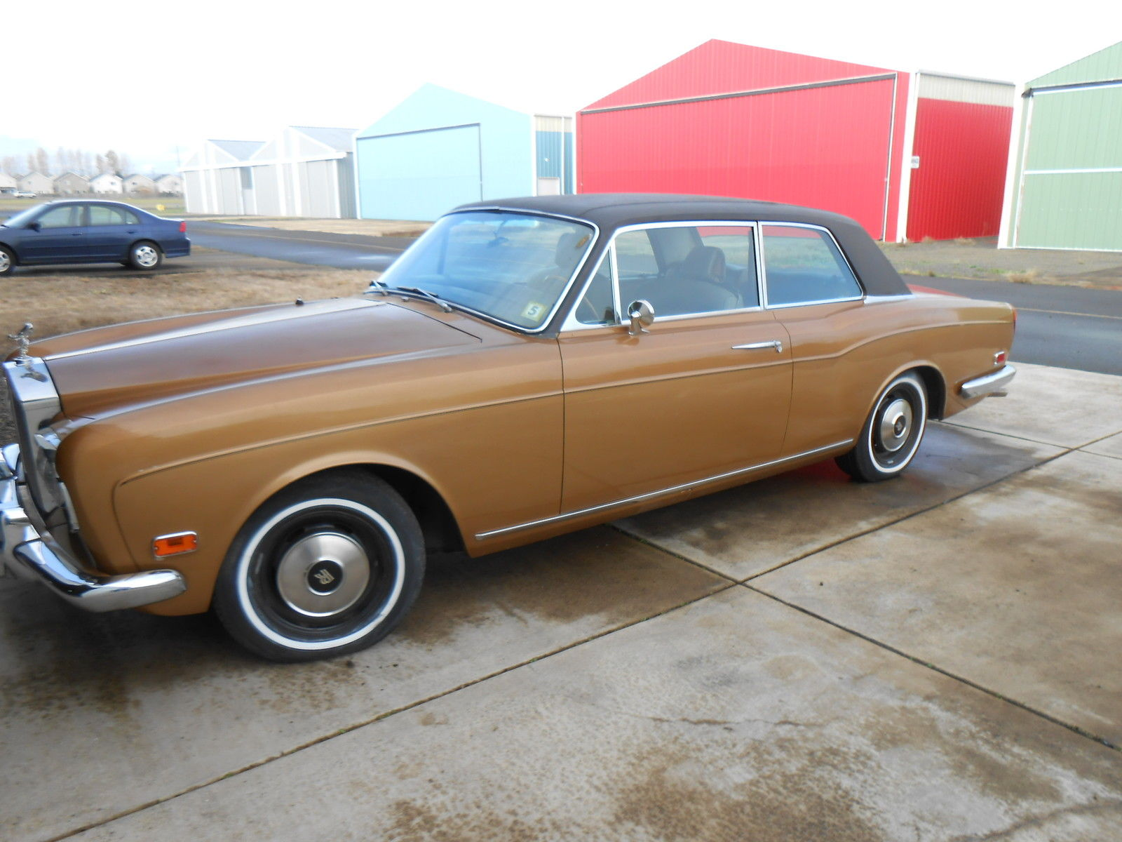 1972 rolls royce corniche barn find for sale. Black Bedroom Furniture Sets. Home Design Ideas