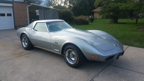 1975 Chevrolet Corvette barn find for sale
