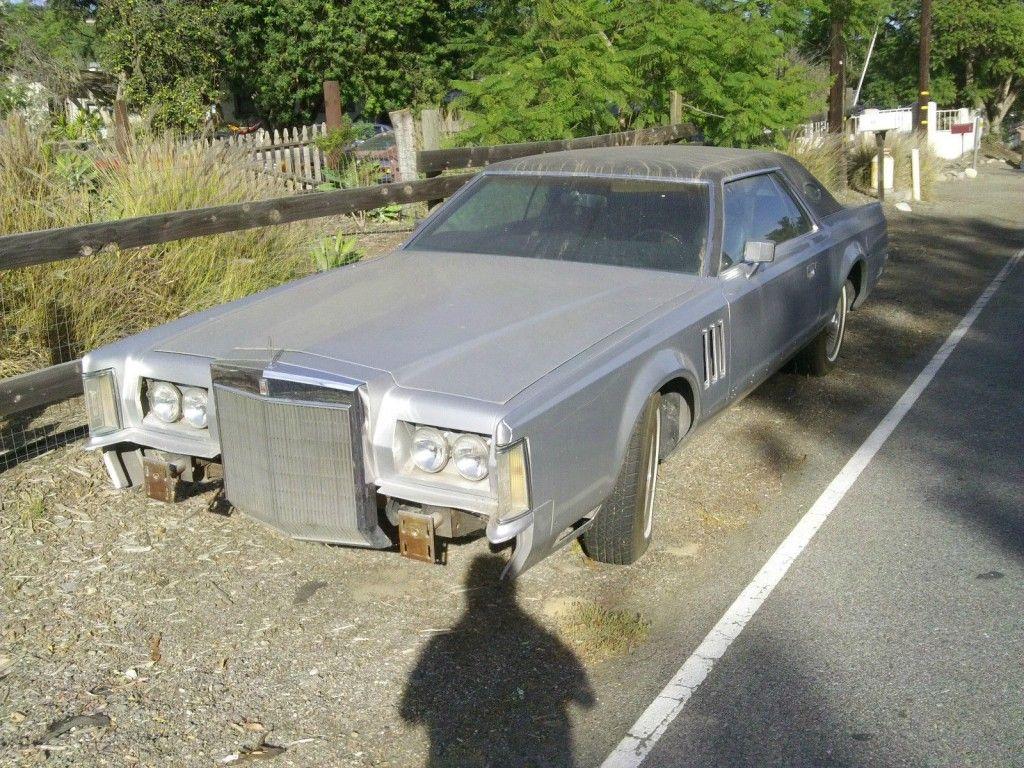 1977 Lincoln Mark V barn find