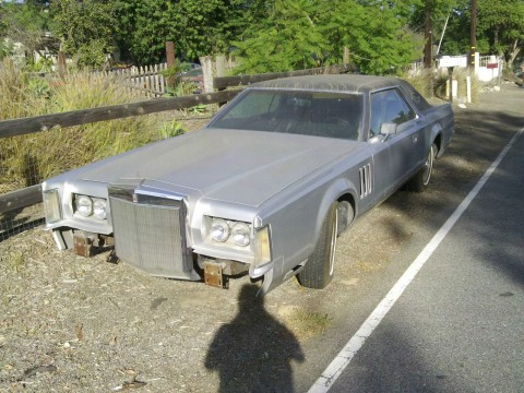 1977 Lincoln Mark V barn find for sale