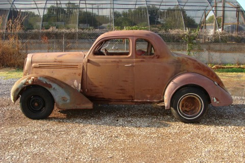 1936 Plymouth Deluxe 5 Window Coupe, BARN Find for sale