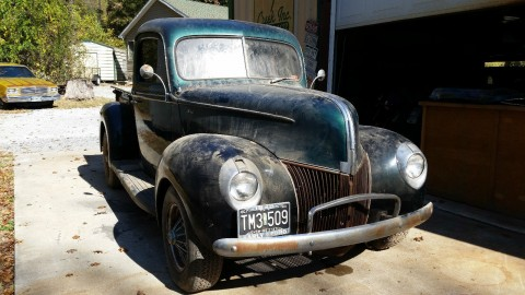 1940 FORD STREET ROD PICK UP (barn find) for sale