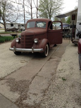 1940 International Harvester D5 1/2 ton rat rod barn find for sale
