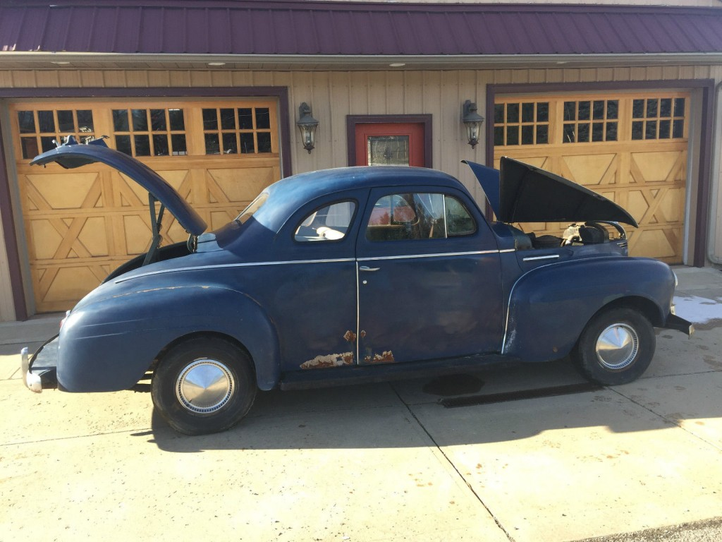 1940 plymouth two door business coupe barn find for sale for 1940 door
