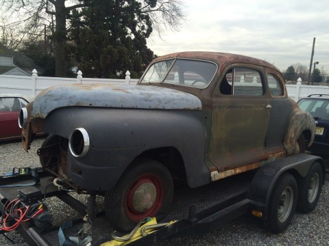 1947 Plymouth P15 Coupe barn find for sale