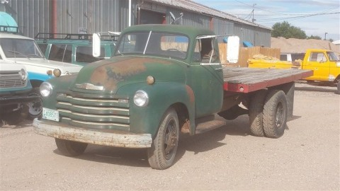 1953 Chevrolet Pickups 6400 2 ton barn find for sale