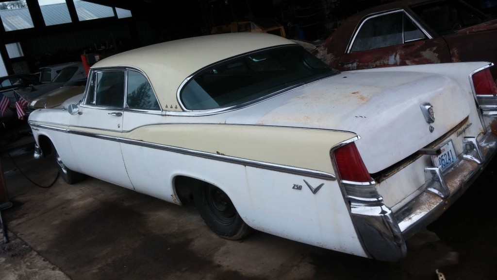 1956 CHRYSLER WINDSOR ORIGINAL CAR SOLID # MATCH ENGINE 331 BARN FIND