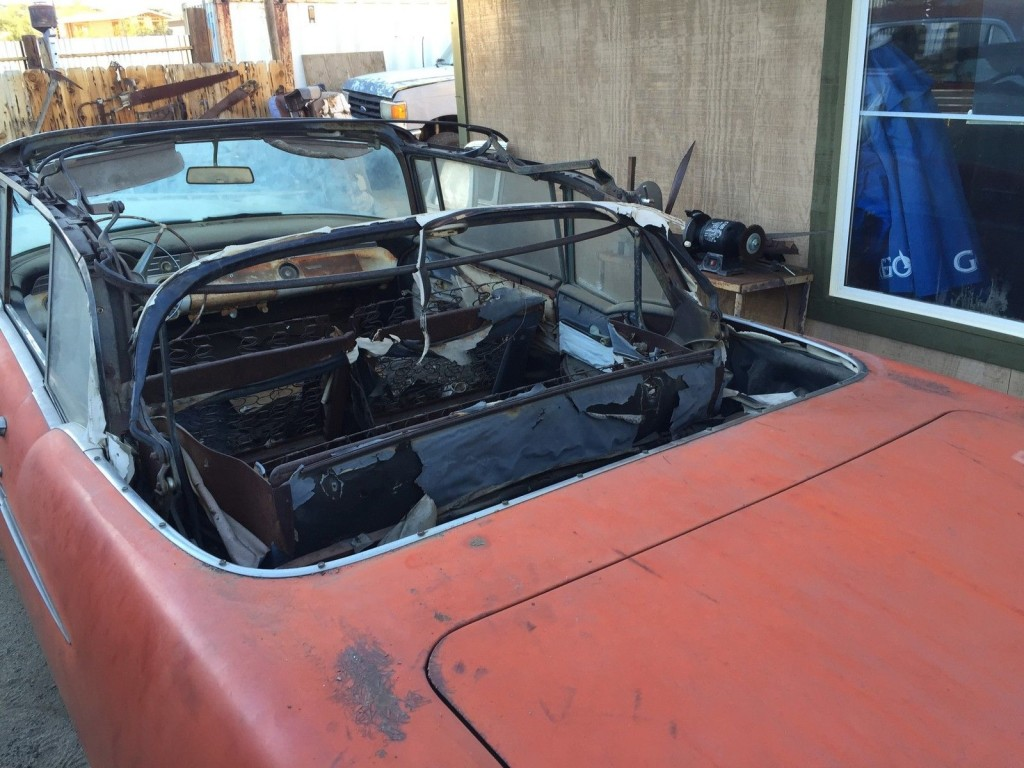 1956 Pontiac Star Chief Convertible, Barn Find