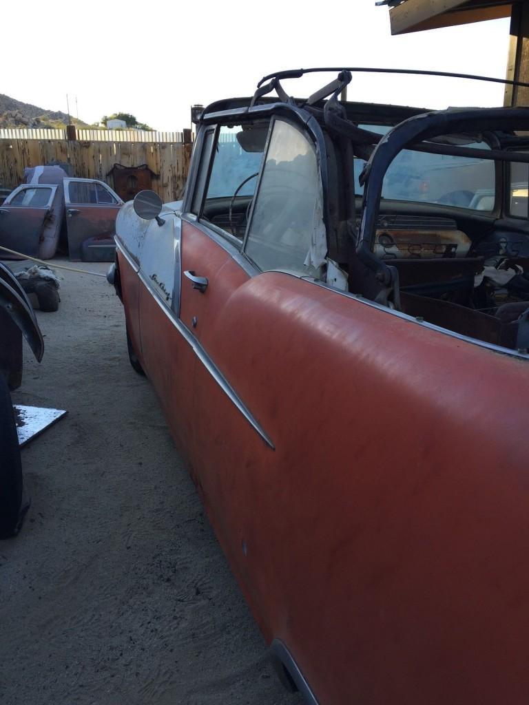 1956 Pontiac Star Chief Convertible, Barn Find