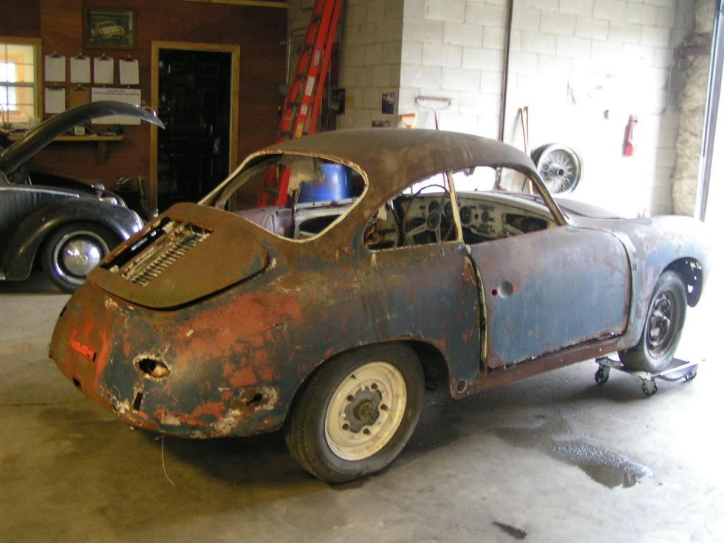 1963 Porsche 356 barn find
