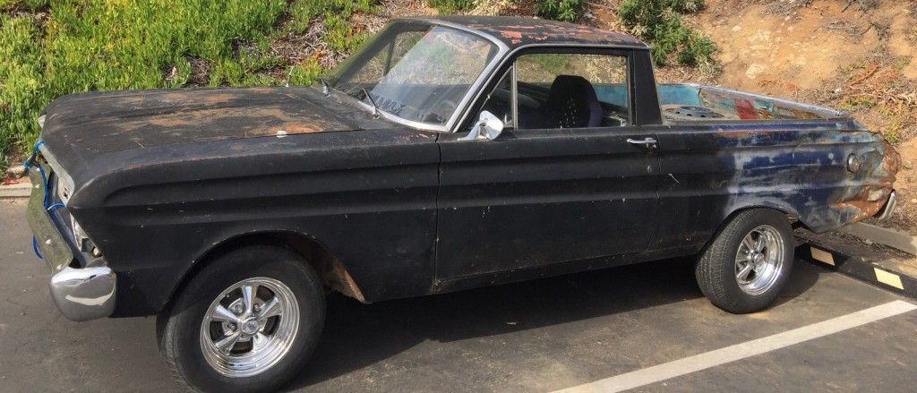 1965 Ford Falcon barn find