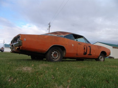 1968 Dodge Charger numbers match barn find for sale