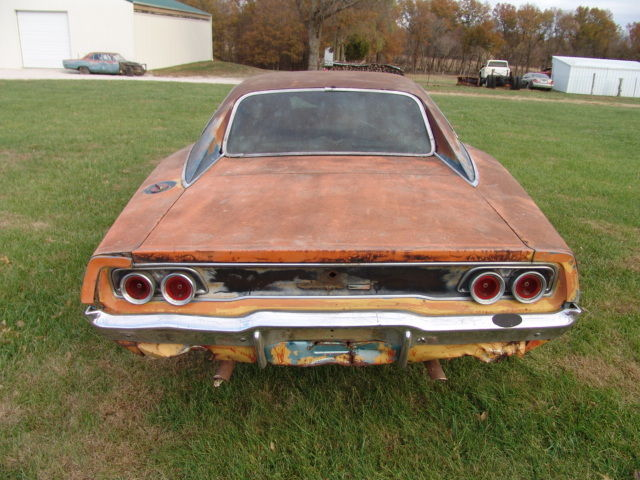 1968 Dodge Charger numbers match barn find
