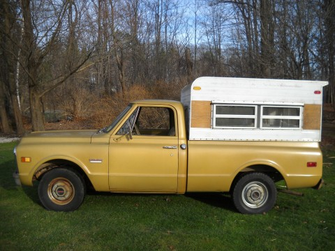 1970 GMC 1500 Shortbed 2WD Turnkey Barn Find for sale