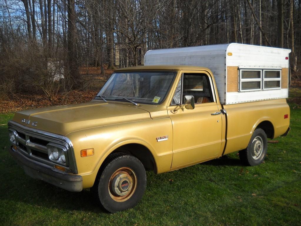 1970 GMC 1500 Shortbed 2WD Turnkey Barn Find