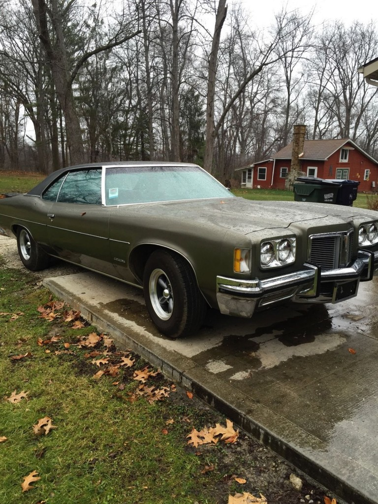 1972 Pontiac Catalina survivor barn find