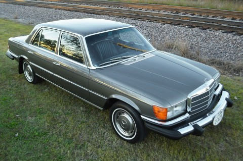1976 Mercedes Benz W116 450 SEL barn find for sale