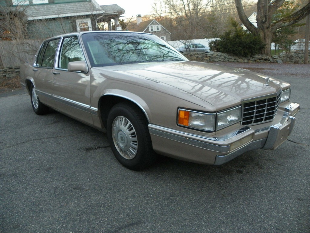 1993 Cadillac Deville barn find