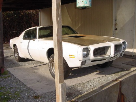 Vintage 1970 Pontiac Firebird Trans Am Clone Barn Find for sale