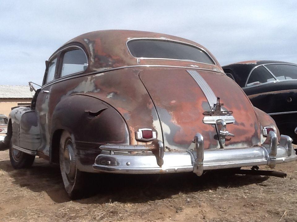 1946 PONTIAC 8 Barn Find Rust Free hot rat rod