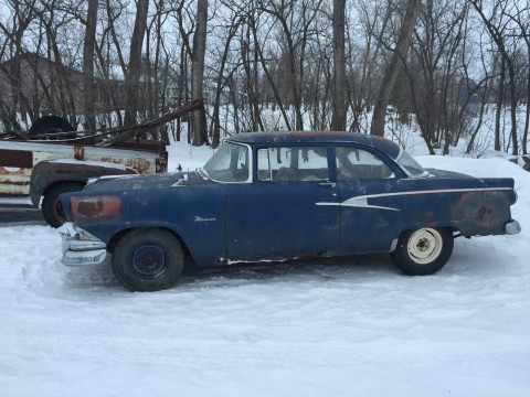 1956 Ford Fairlane meteor 2 door barn find for sale