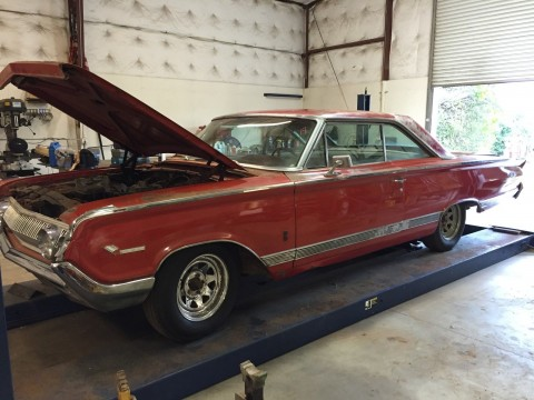1964 Mercury park lane Super Marauder 390 barn find for sale