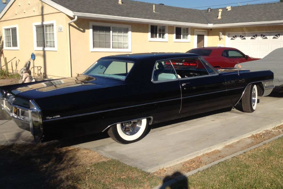 1965 Cadillac Deville Coupe Barn Find