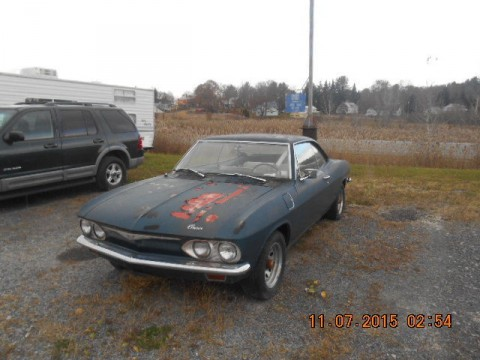 1965 Chevrolet Corvair barn find for sale
