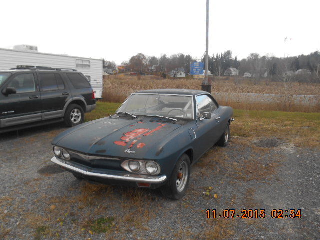1965 Chevrolet Corvair barn find