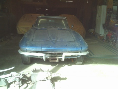 1965 Chevrolet Corvette convertible barn find for sale