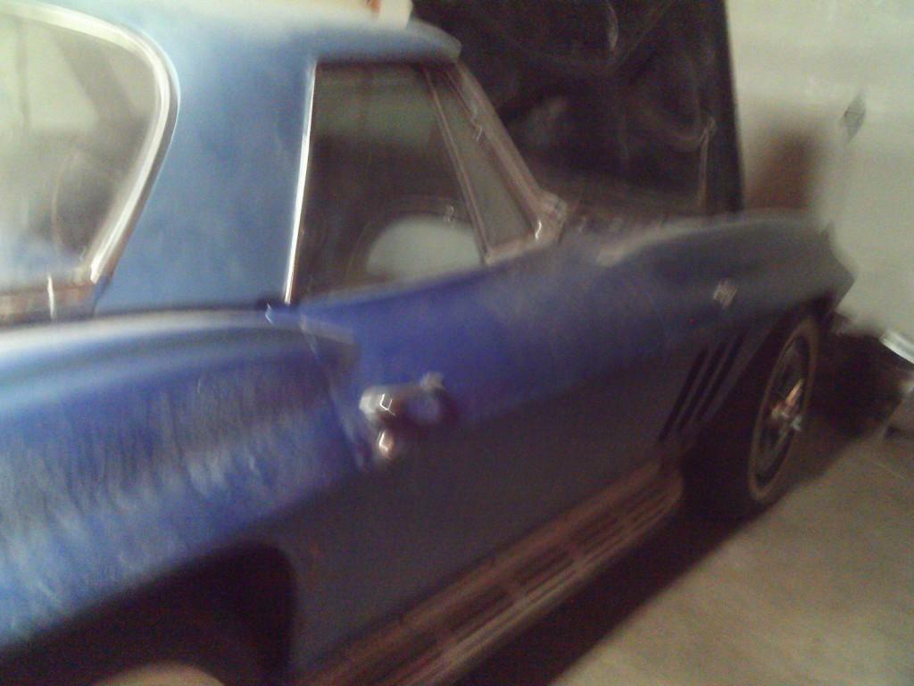 1965 Chevrolet Corvette convertible barn find