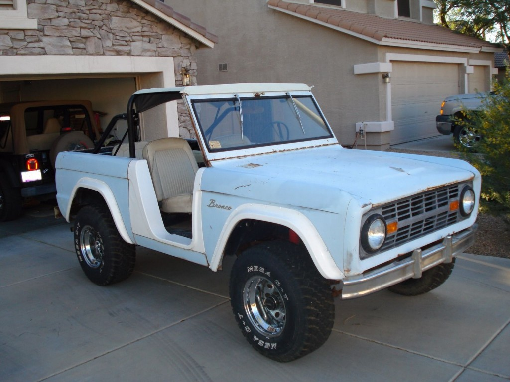 1966 ford bronco u13 factory roadster barn find for sale. Black Bedroom Furniture Sets. Home Design Ideas