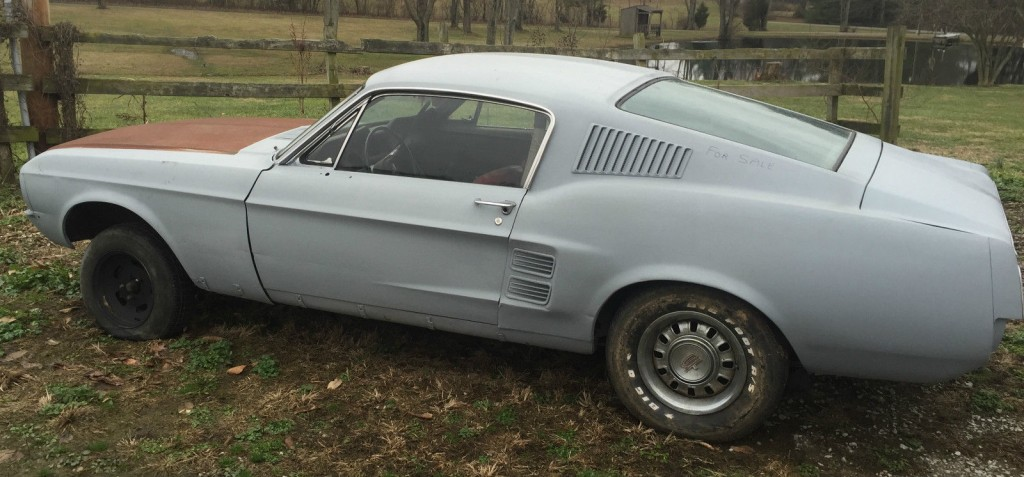 1967 Ford Mustang A code barn find for sale