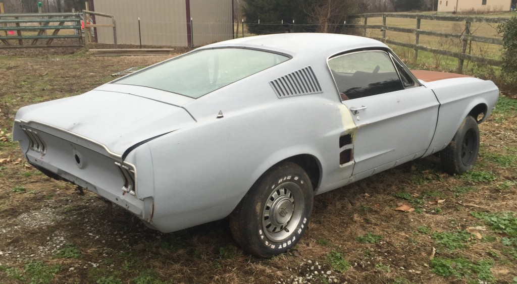 1967 Ford Mustang A code barn find
