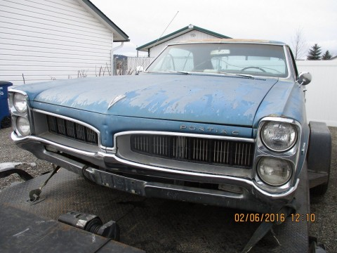 1967 Pontiac Le Mans barn find for sale