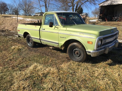 1969 Chevrolet C 10 barn find for sale