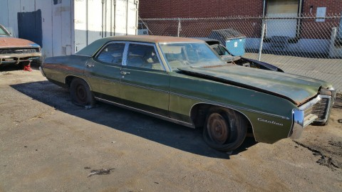 1969 Pontiac Catalina barn find for sale