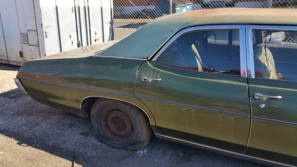 1969 Pontiac Catalina barn find