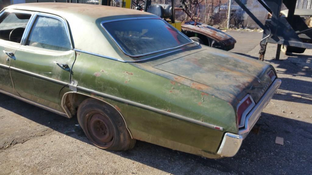 1969 Pontiac Catalina barn find