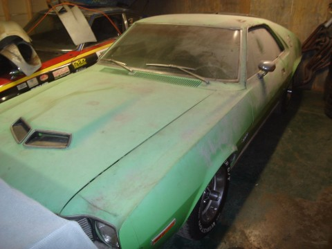 1970 AMC AMX   Barn Find for sale