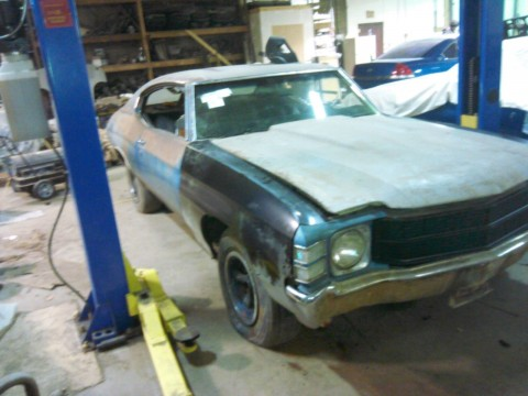 1971 Chevrolet Chevelle #'s Match Solid car barn find for sale