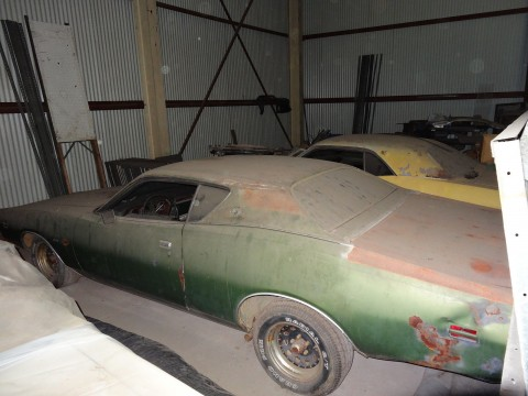 1971 Dodge Charger SE Rustfree Georgia barn find for sale