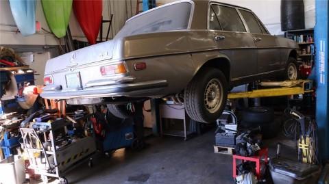 1971 Mercedes 300sel 6.3 barn find for sale