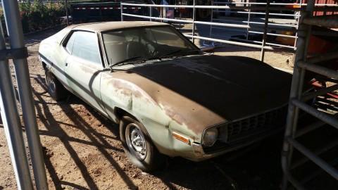 1972 AMC Javelin sst 304 barn find for sale